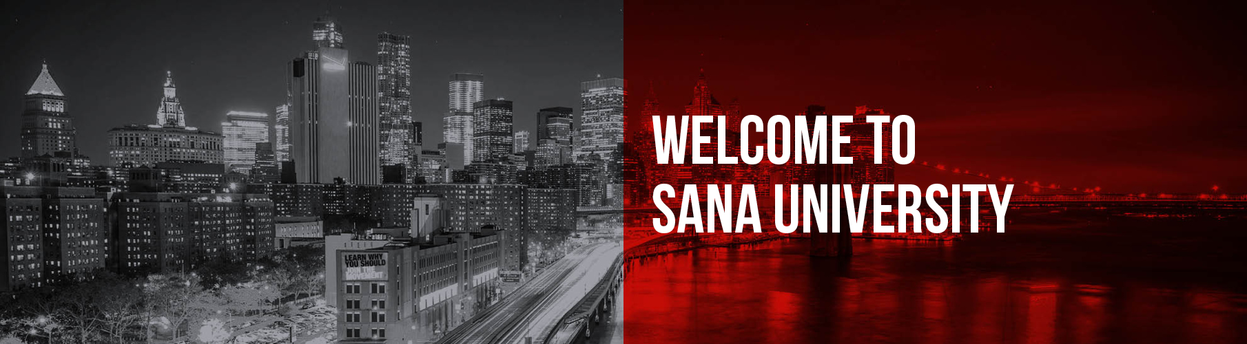 Welcome to Sana University