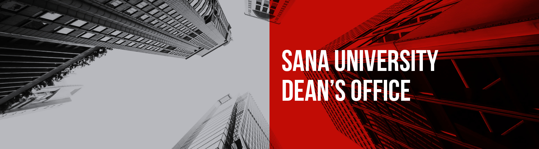 Sana University Deans Office